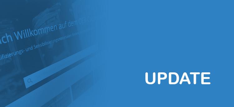 Update des OER-Contentbuffets am Montag, 19. Februar ab 17 Uhr