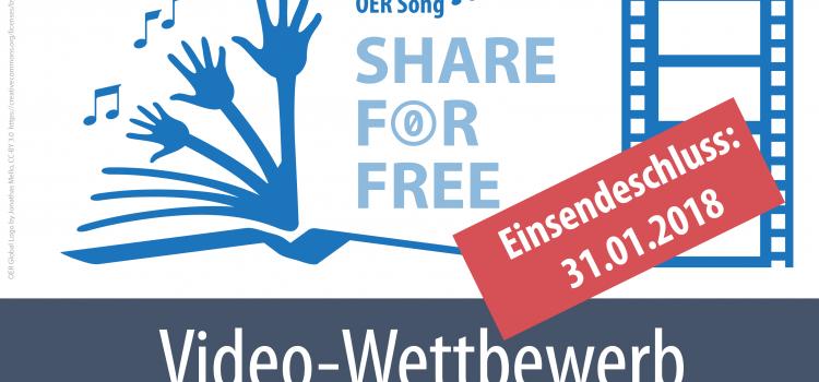 Videowettbewerb OER-Song-Video bis 31.01.2017