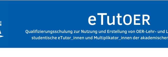 Schulung zur Nutzung und Erstellung von OER-Lehr- und Lernmaterialien