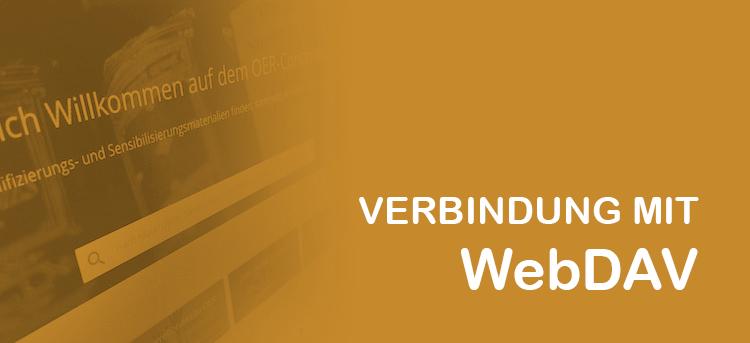 Das Contentbuffet mit WebDAV als Netzlaufwerk verwenden