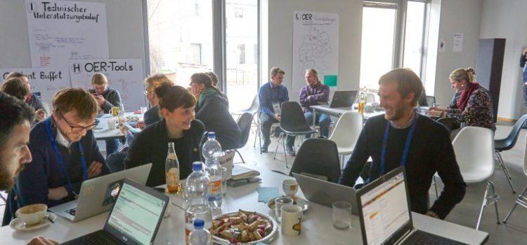 Vorbereitungen für das OER-IT-Frühjahrscamp