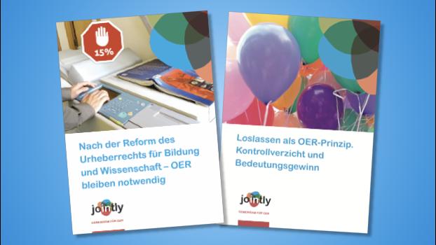 Zwei neue JOINTLY-Broschüren – und alle Titel wieder gedruckt verfügbar