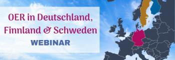 Webinar-Reihe zu Open Education und OER in nordeuropäischen Ländern